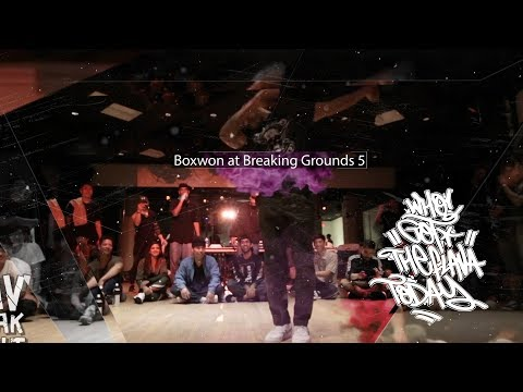 Who Got The Flava Today? Boxwon at Breaking Grounds 5