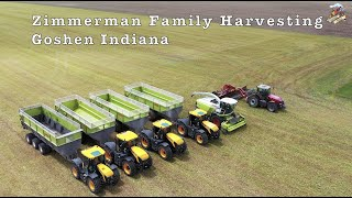 Chopping Triticale with Zimmerman Family Harvesting