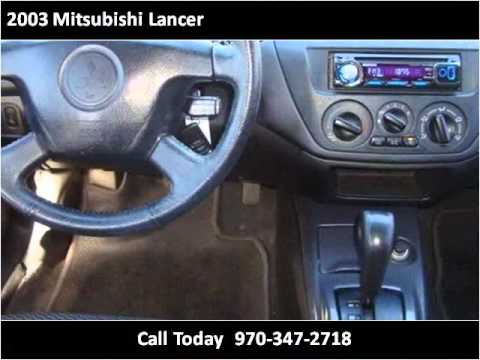 2003 Mitsubishi Lancer available from Ehrlich Toyota