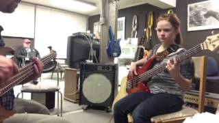 Black Betty Bass cover at Supercat Studios.