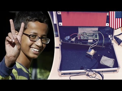 'Clock Boy' Ahmed Mohammed moving to Qatar after visit with war criminal Omar al-Bashir - TomoNews
