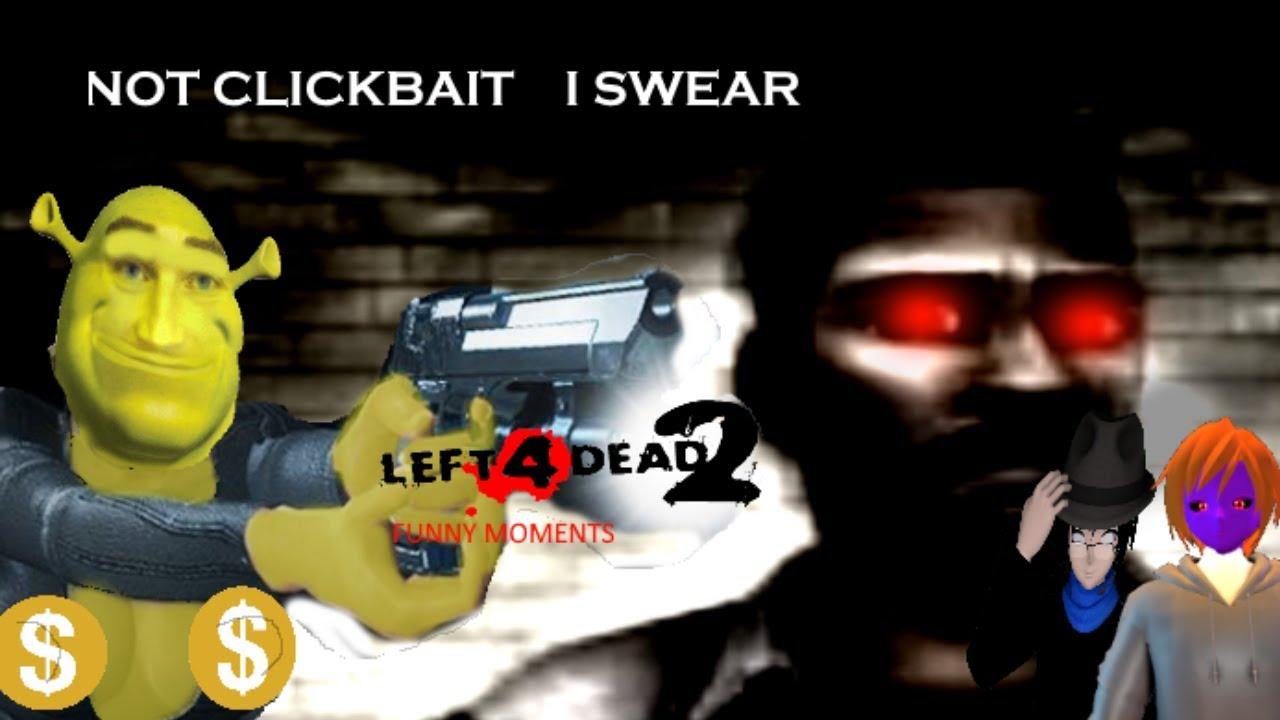 DarkBox and Friends play LEFT 4 DEAD 2 random fun episode 3 DON'T TRUST  LOUIS!!!