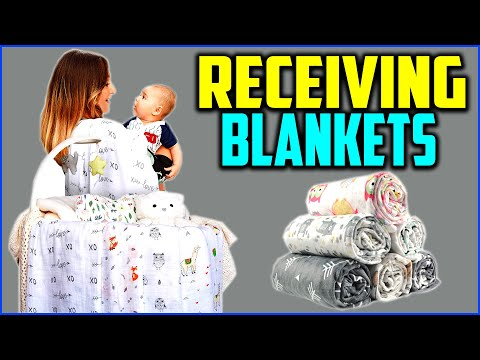 Top 5 Best Baby Receiving Blankets in 2020 Reviews