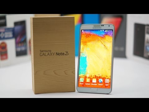 Samsung Galaxy Note 3 (N9005) Unboxing & Hands On