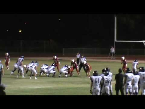 Solomon Enis #21 28 yard TD Catch in end zone