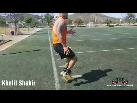 Boise State University Receiver Khalil Shakir Working Being Prepared To Play Right Away