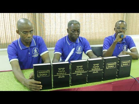 The Bible Society of Nigeria announce the Completion of Kalabari and Okrika Bible