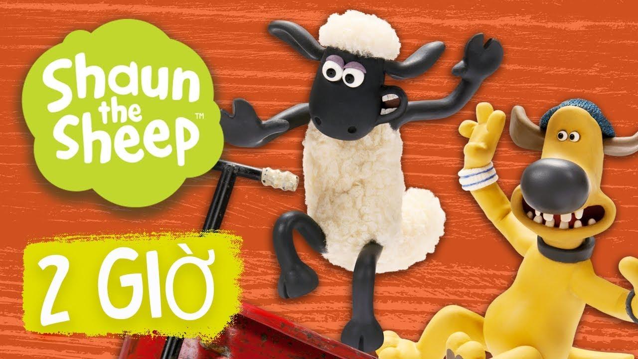 Phần 5 Biên soạn – Những Chú Cừu Thông Minh [Shaun the Sheep Season 5 Full Episodes Compilation]