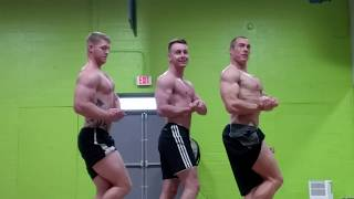 Flex off with some workout buddies