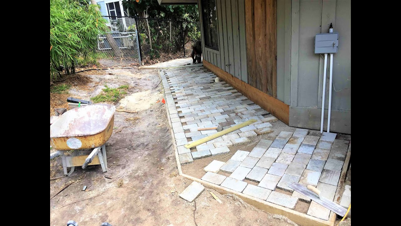 How to seal Artistic Pavers with Cobble Enhancer
