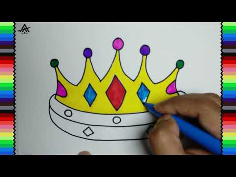 How To Draw Crown