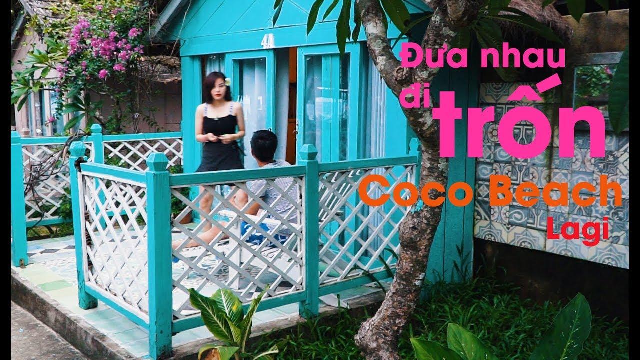 Flycam Sky | ✅ Coco Beach Camp Lagi Bình Thuận – Đưa nhau đi Trốn