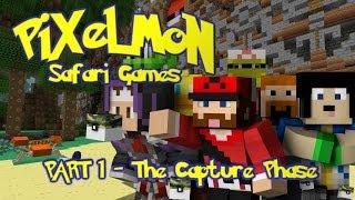 Pixelmon: SAFARI GAMES! Capture Phase! [Part 1]