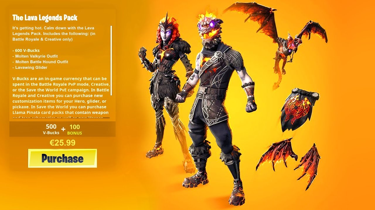 new leaked lava legends pack in fortnite fire spinner fanciful - pack fortnite 25