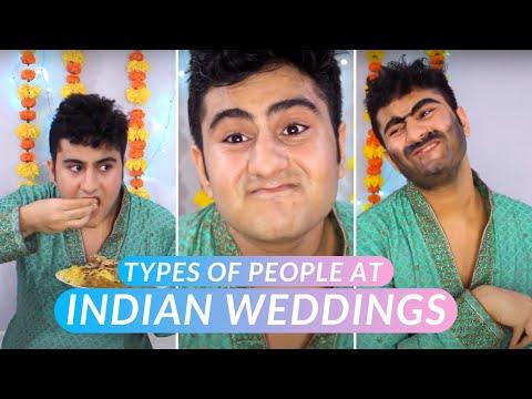 Types of People at Indian Weddings || Karan Punjabi
