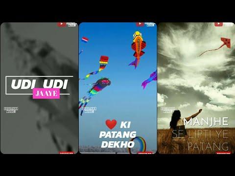 Happy makar sankranti status  Udi Udi jaye full screen status  sssuthar music