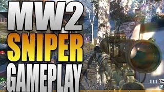 Nine Lives - Sniper FFA Gameplay on Estate - Modern Warfare 2 Multiplayer Gameplay (MW2)