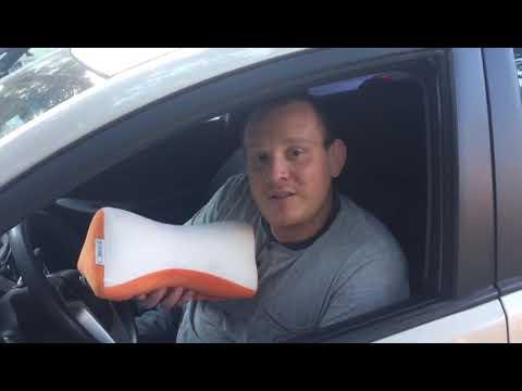 Ортопедическая подушка в автомобиль US MEDICA US-X - отзыв покупателя