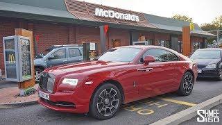 McDonald's Drive Thru... Rolls-Royce Style!
