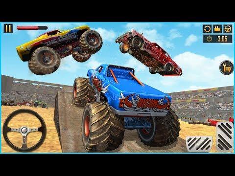 Jugando Juegos De Carros - Camiones Monstruo - Videos Para Niños