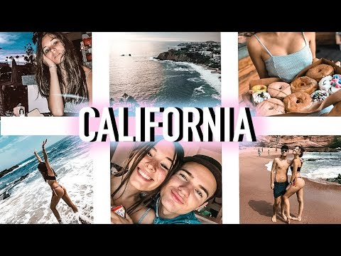 OUR CALIFORNIA ROADTRIP: TRYING URTH CAFE, LAGUNA BEACH & DONUTS