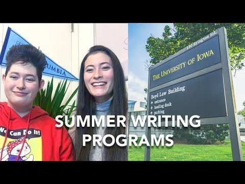 HOW TO GET INTO THE IOWA YOUNG WRITERS' STUDIO AND KENYON REVIEW YOUNG WRITERS WORKSHOP