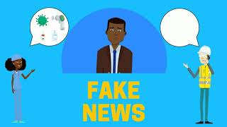 Spotting scams and fake news about COVID-19 (Karen/ကညီကျိာ်)