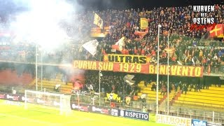 Benevento Calcio 0:0 Vicenza Calcio 21.04.2017 | Tifo