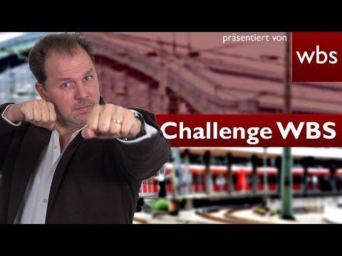 Ohne Ticket in der wartenden Bahn - schon Schwarzfahren? Challenge WBS - RA Solmecke