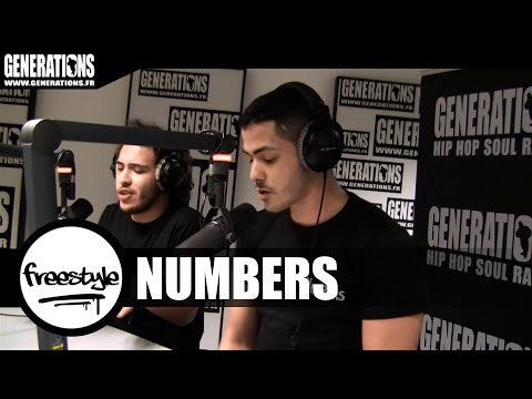 Youtube: Numbers – Freestyle (Live des studios de Generations)