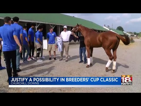 Justify A Possibility In Breeders' Cup Classic