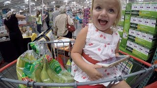 🛒 SCHOOL LUNCH GROCERY SHOPPING AT COSTCO FOR AN ARMY OF KIDS! 🍌