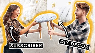Making My Subscribers DREAM DIY Projects!!!