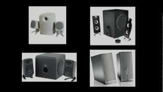 Klipsch ProMedia 2.1 vs. Bose Companion 2 vs. Cyber Acoustics CA-3602 computer speakers