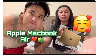 UNBOXING || APPLE MACBOOK AIR 2020 💻❤️ #applemacbookair #unboxing