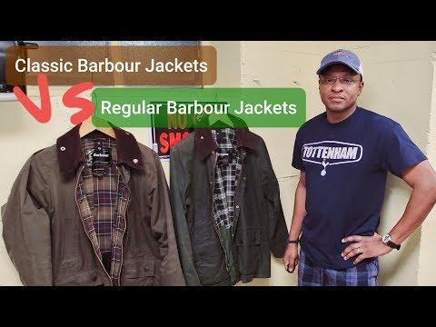Classic Barbour Jackets Versus Regular Barbour Jackets