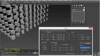 Стандартные стредства и скрипты при работе с массивами в 3ds max
