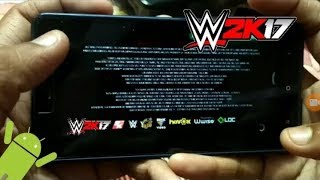 1gb ram work Wwe 2k17 2k mod apk+obb 100% work