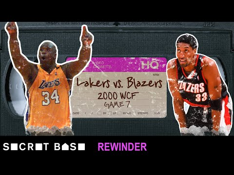 The wild comeback finish to the 2000 Lakers-Blazers playoff series deserves a deep rewind