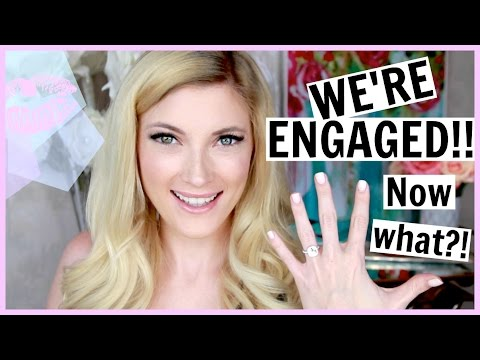 I'M ENGAGED! Wedding Chat and All That