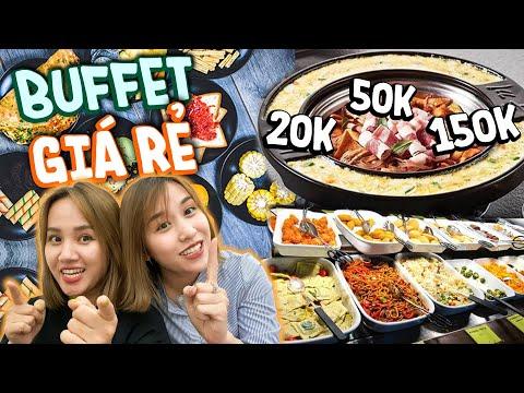 HNAG Tour: Ăn Hết Các Quán Buffet Giá Bình Dân - Ngon Bất Ngờ !