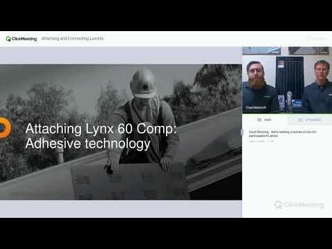 Lumeta Solar Webinar - Attaching and Connecting Lumeta Lynx, April 2018