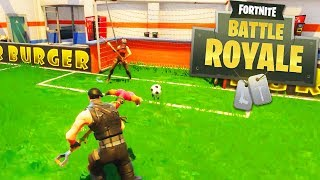 *NEW* SOCCER MINI GAME IN FORTNITE: BATTLE ROYALE! - UPDATE TOMORROW