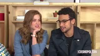 Sophia Abrahão e Sergio Malheiros em  live para a  revista Cosmopolitan Brasil !!