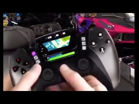 PS5 Controller Leak Concept