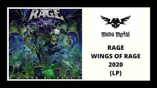 Rage - Wings of Rage (2020) Full Album | Mono Metal