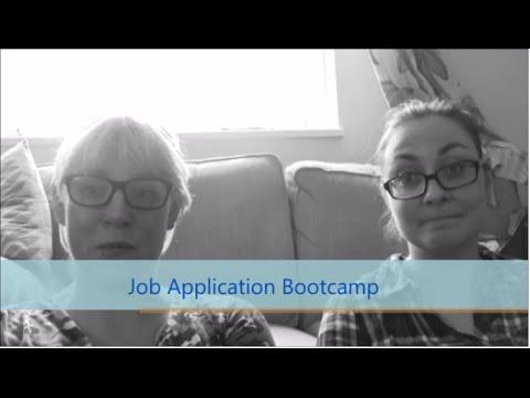 Job Application Bootcamp