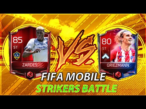 Fifa Mobile Playing With Griezman Then With Zardes . Which One Score More