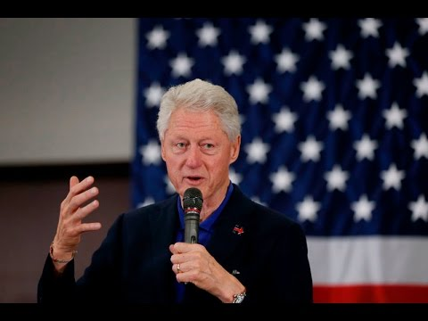 Former President Clinton stumps for wife, former Secretary of State Hillary Clinton in Fort Worth