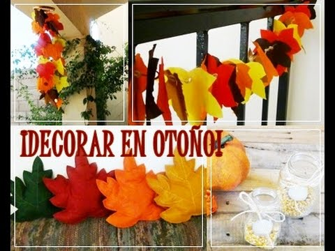 Diy 4 ideas para decorar en oto o youtube for Ideas para decorar alrededor de la piscina